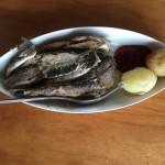 Local Finnish food fish